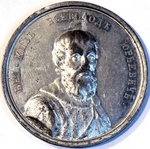 Gass, Johann Balthasar - Grand Prince Vsevolod III Yuryevich the Big Nest (from the Historical Medal Series)