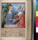 Bourdichon, Jean - The Visitation (Book of Hours)