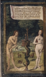 Poyet, Jean - Adam and Eve (from Lettres bâtardes)
