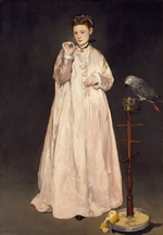 Manet, Édouard - Young Lady in 1866