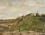 Gogh, Vincent, van - The hill of Montmartre with stone quarry