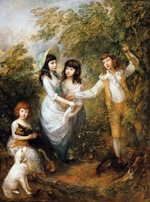 Gainsborough, Thomas - The Marsham Children