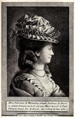 Anonymous - Portrait of Sophie Dorothea of Württemberg
