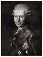 Anonymous - Portrait of Semyon Zorich (1745-1799), the Catherine the Great's Favourite