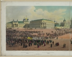 Benoist, Philippe - Nicholas Palace in the Moscow Kremlin (from a panoramic view of Moscow in 10 parts)