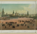 Benoist, Philippe - The Basil Cathedral at the Red Square in Moscow (from a panoramic view of Moscow in 10 parts)