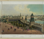 Benoist, Philippe - The Moscow Orphanage (from a panoramic view of Moscow in 10 parts)