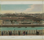 Benoist, Philippe - View of Zamoskvorechye from the Kremlin Wall (from a panoramic view of Moscow in 10 parts)