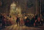 Menzel, Adolph Friedrich, von - Flute Concert with Frederick the Great in Sanssouci