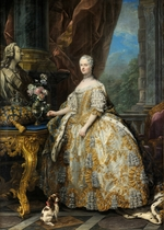Van Loo, Carle - Portrait of Marie Leszczynska, Queen of France (1703-1768)