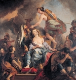 La Fosse, Charles, de - The Sacrifice of Iphigenia