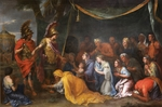 Le Brun, Charles - The Queens of Persia at the feet of Alexander (The Tent of Darius)