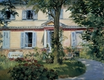 Manet, Édouard - The House at Rueil