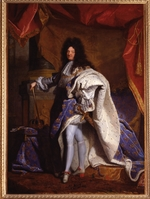 Rigaud, Hyacinthe François Honoré - Louis XIV, King of France (1638-1715)