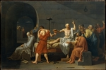 David, Jacques Louis - The Death of Socrates