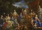 Nocret, Jean - Louis XIV and the royal family