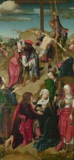 Master of Delft - The Deposition (Triptych: Scenes from the Passion of Christ, right panel)
