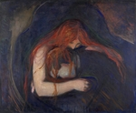 Munch, Edvard - The Vampire II