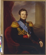 Kaniewski, Jan Ksawery - Portrait of Ivan Fyodorovich Paskevich, Count of Erivan, Viceroy of the Kingdom of Poland
