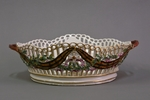 Kozlov, Gavriil Ignatievich - Bread Basket  from the Porcelain Dinner Service of the Order of Saint George the Victorious (Gardner Porcelain Factory)