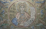 Byzantine Master - The Queen of Sheba (Detail of Interior Mosaics in the St. Mark's Basilica)