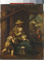 Scarsellino (Scarsella), Ippolito - The Holy Family