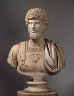 Art of Ancient Rome, Classical sculpture - Bust of Lucius Verus