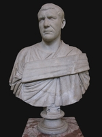 Art of Ancient Rome, Classical sculpture - Bust of Philip the Arab