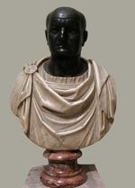Art of Ancient Rome, Classical sculpture - Bust of Vespasian