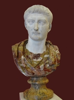 Art of Ancient Rome, Classical sculpture - Bust of Tiberius
