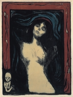 Munch, Edvard - Madonna (Loving Woman)