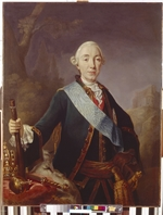 Pfandzelt, Lucas Conrad - Portrait of the Tsar Peter III of Russia (1728-1762)