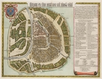 Blaeu, Willem Janszoon - The Moscow Kremlin Map of the 16th century (Castellum Urbis Moskvae)