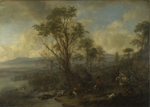 Wouwerman, Philips - A Stag Hunt