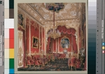Hau, Eduard - Interiors of the Winter Palace. The Boudoir of Empress Maria Alexandrovna