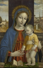 Bergognone, Ambrogio - The Virgin and Child