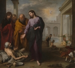 Murillo, Bartolomé Estebàn - Christ healing the Paralytic at the Pool of Bethesda