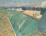 Angrand, Charles - The Western Railway at its Exit from Paris