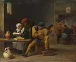 Teniers, David, the Younger - Peasants making Music in an Inn
