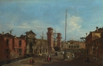 Guardi, Francesco - Venice. The Arsenal
