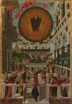Gerolamo da Vicenza - The Dormition and Assumption of the Virgin