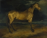 Géricault, Théodore - A Horse frightened by Lightning