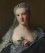 Nattier, Jean-Marc - Portrait of Manon Balletti (1740–1776)