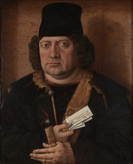 Master of the Mornauer Portrait - Portrait of Alexander Mornauer