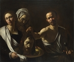 Caravaggio, Michelangelo - Salome receives the Head of John the Baptist