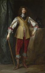 Dyck, Sir Anthony van, (Studio of) - Portrait of Prince Rupert of the Rhine (1619-1682), Duke of Cumberland