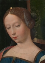Master of the Female Half-Lengths, (Workshop) - A Female Head