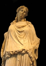 Art of Ancient Rome, Classical sculpture - Eirene, the Godess of peace (Roman copy from a Greek Original)