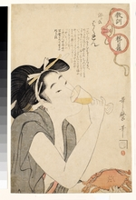 Utamaro, Kitagawa - From the series A Parent's Moralising Spectacles