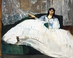 Manet, Édouard - Woman with a Fan